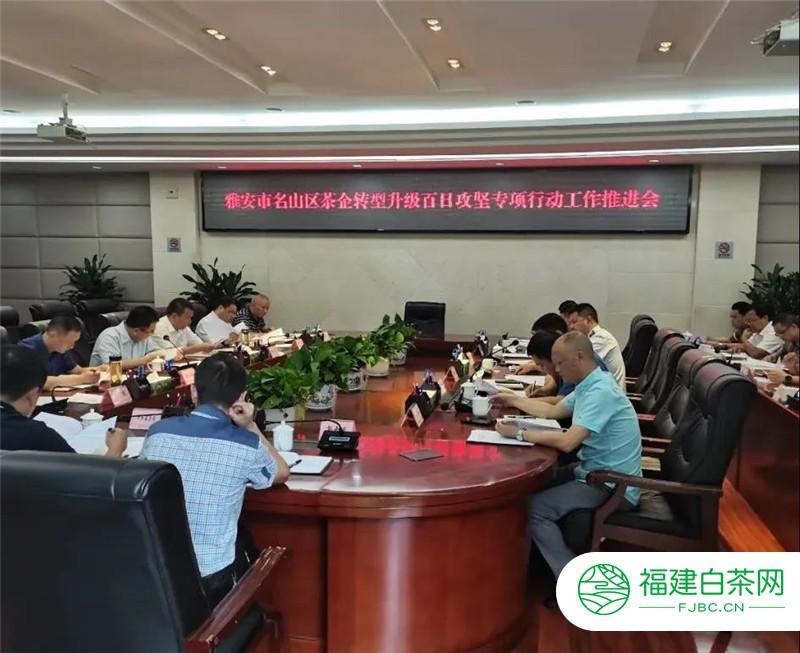 雅安市名山区:全面推进茶企转型升级百日攻坚专项行动