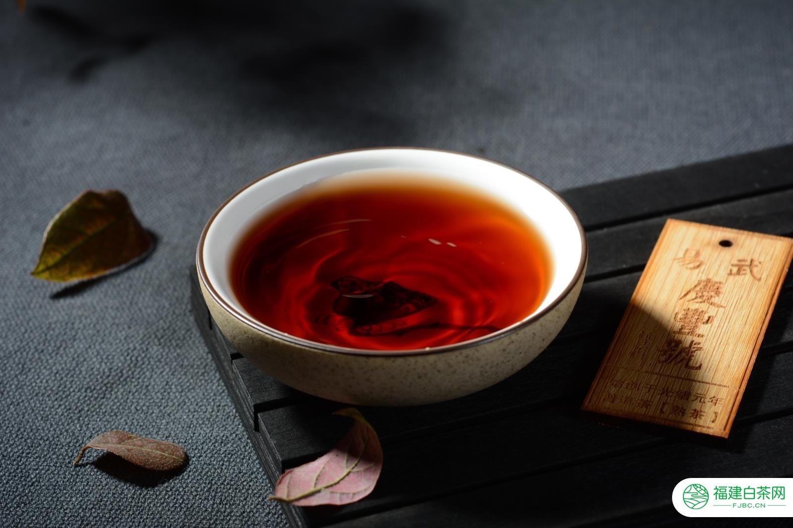 易武庆丰号 200克曼松贡茶 普洱茶 熟茶