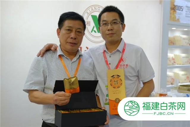 湘益茯茶亮相第十二届湖南茶业博览会