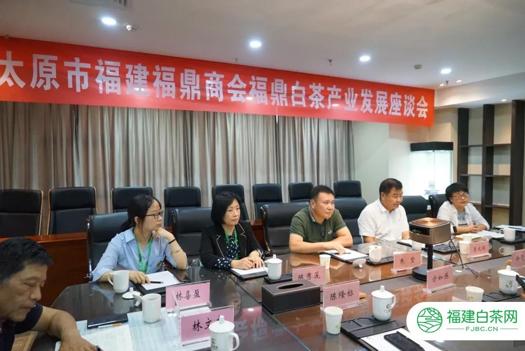 太原市福建福鼎商会福鼎白茶产业发展座谈会在山西太原召开
